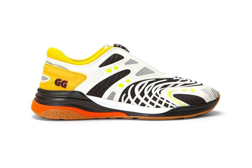 Кроссовки Gucci Ultrapace R с оригинальной системой шнуровки