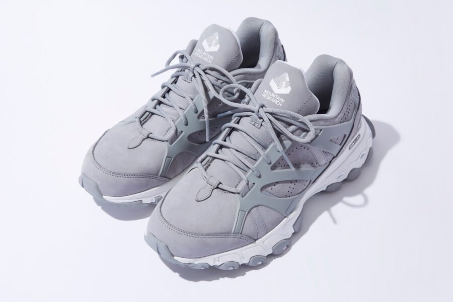 Кроссовки Mountain Research x Reebok DMX Trail Shadow «Pure Grey» в стиле 80-х