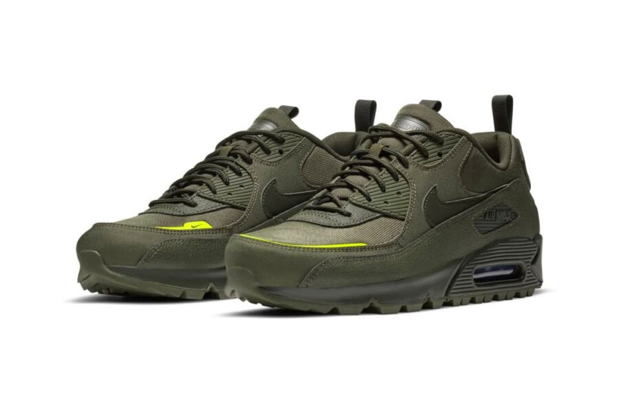 "Кроссовки Nike Air Max 90 ""Surplus Pack"". Зимняя версия из Cordura и Tech Tuff"