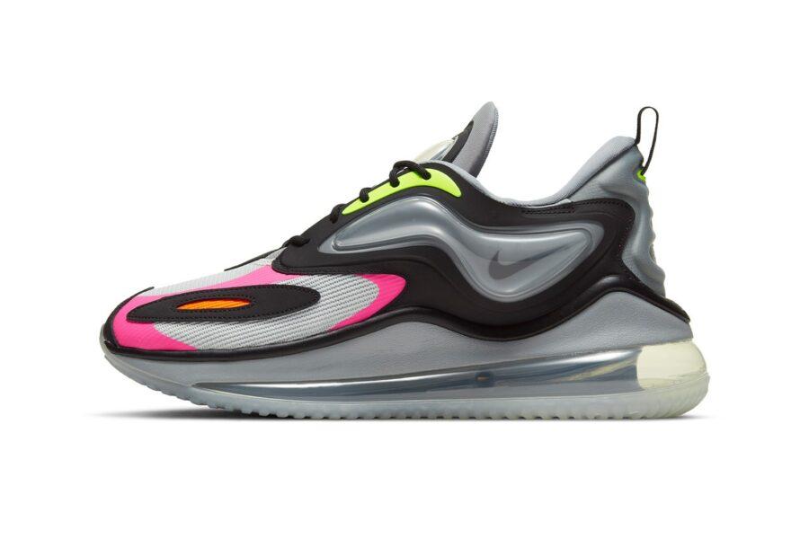 Nike показали кроссовки Zephyr с технологией Air в верхней части