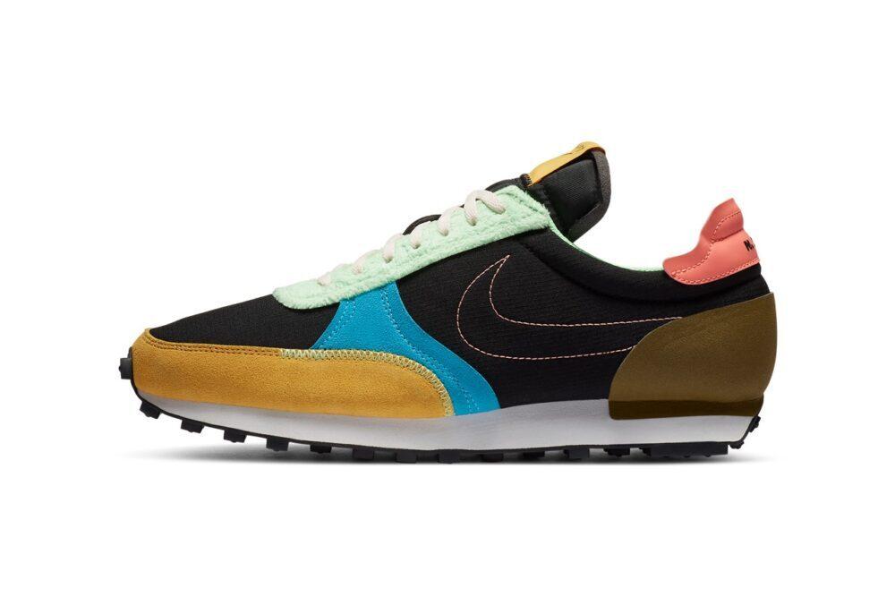 Nike Daybreak Type N. 354 «Fur Pack» с яркими разноцветными акцентами