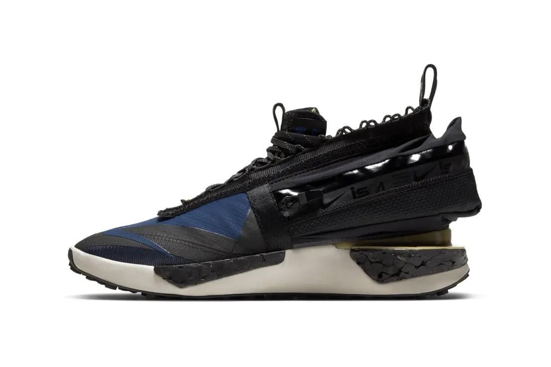 Кроссовки Nike ISPA Drifter Gator, имеющие съемные гетры для всепогодной защиты