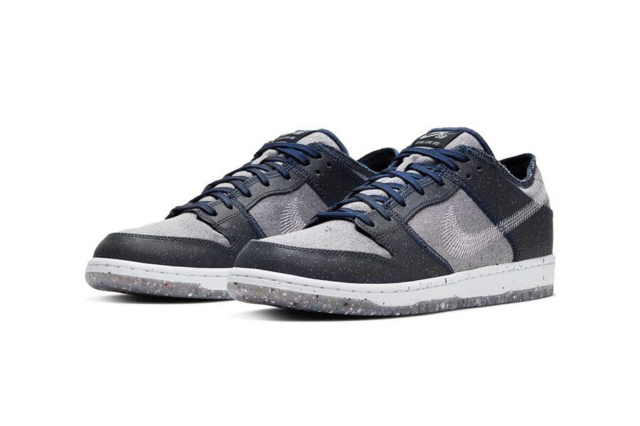 """Кроссовки Nike SB Dunk Low """"Crater"""" продолжают коллекцию обуви из переработанных материалов"""