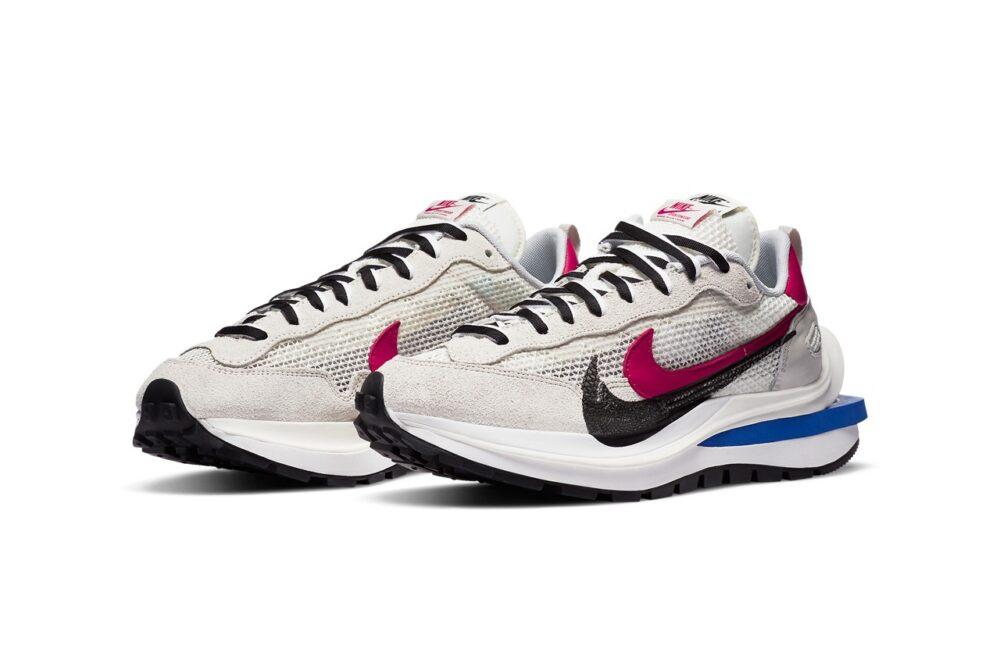 Официальные изображения Sacai x Nike Vaporwaffle в двух новых цветах