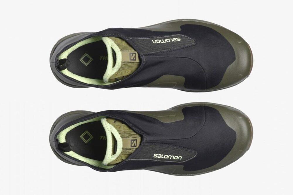 The Broken Arm придает кроссовкам Salomon XA-Alpine Mid оттенки леса