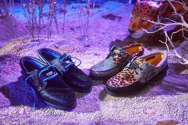 Chinatown Market и Timberland представили обувь с животным принтом