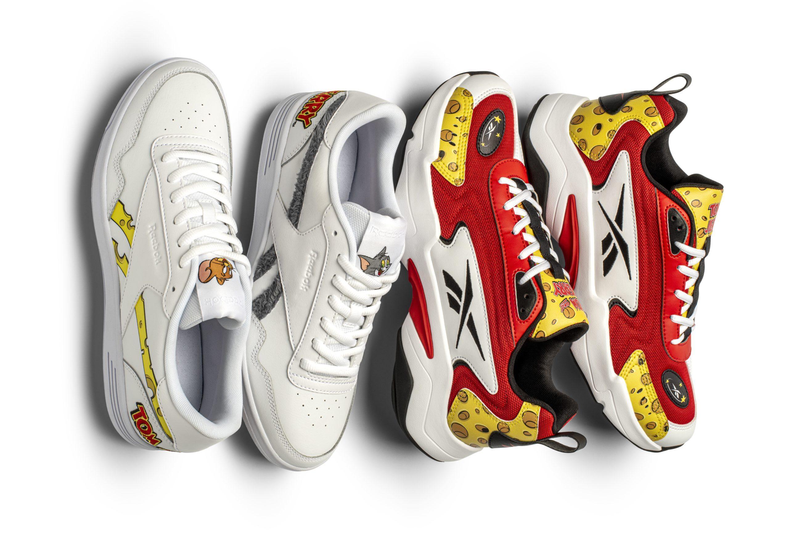 Последняя коллекция кроссовок Reebok & Tom & Jerry в честь персонажа Droopy
