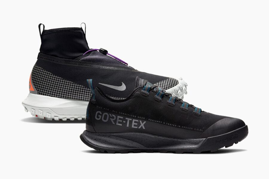 Коллекция одежды и обуви Nike ACG Holiday 2020 в стиле gorpcore