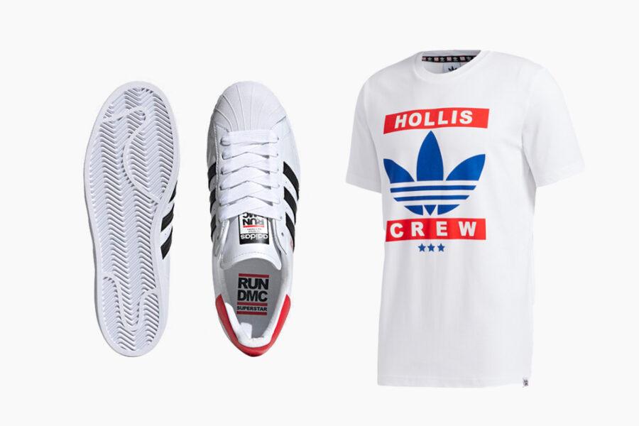 Adidas представляет коллекцию в честь икон хип-хопа RUN-DMC