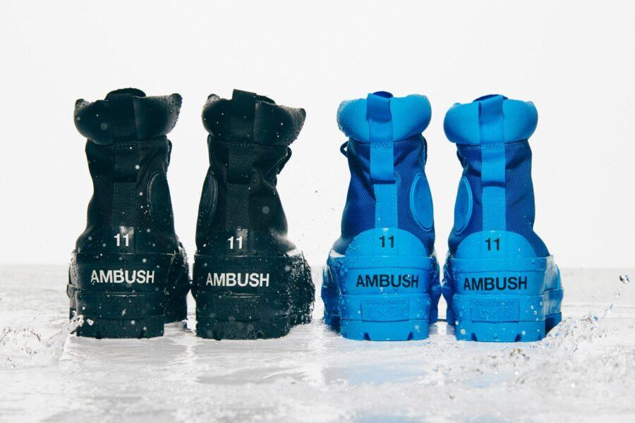Высокие ботинки AMBUSH & Converse CTAS Duck Boot для холодной погоды