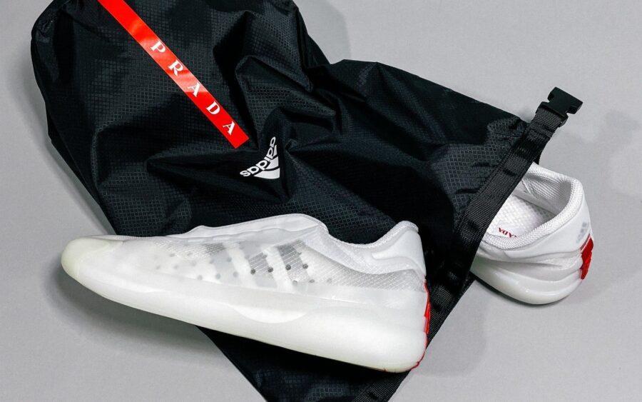 Вторая коллаборация кроссовок Prada x adidas из переработанных материалов