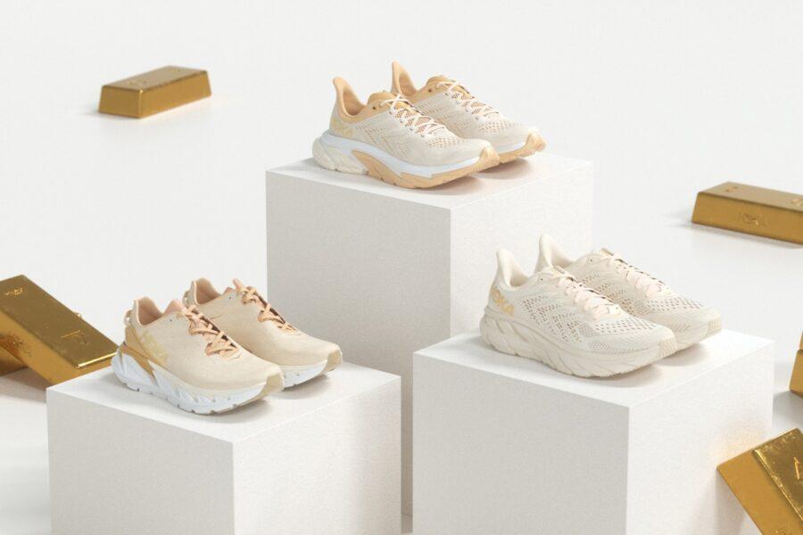 Коллекция кроссовок HOKA ONE ONE Gold Standard Pack