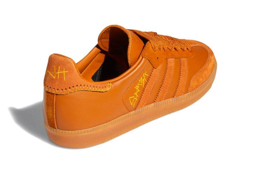 Джона Хилл и Adidas Originals представили кроссовки Samba в коричневом цвете с коллекцией одежды