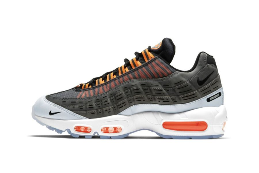 Совместные кроссовки Kim Jones и Nike Air Max 95 «Total Orange»