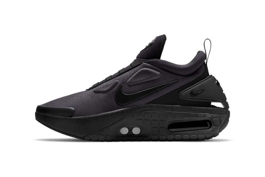 Умные кроссовки Adapt Auto Max от Nike появятся в черном цвете
