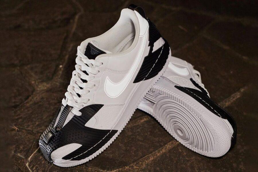 Кроссовки Nike Air Force 1 NDSTRKT с резиновыми накладками