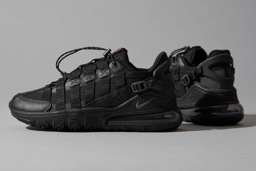 Кроссовки Nike Air Max 270 Vistascape в черном авангардном стиле