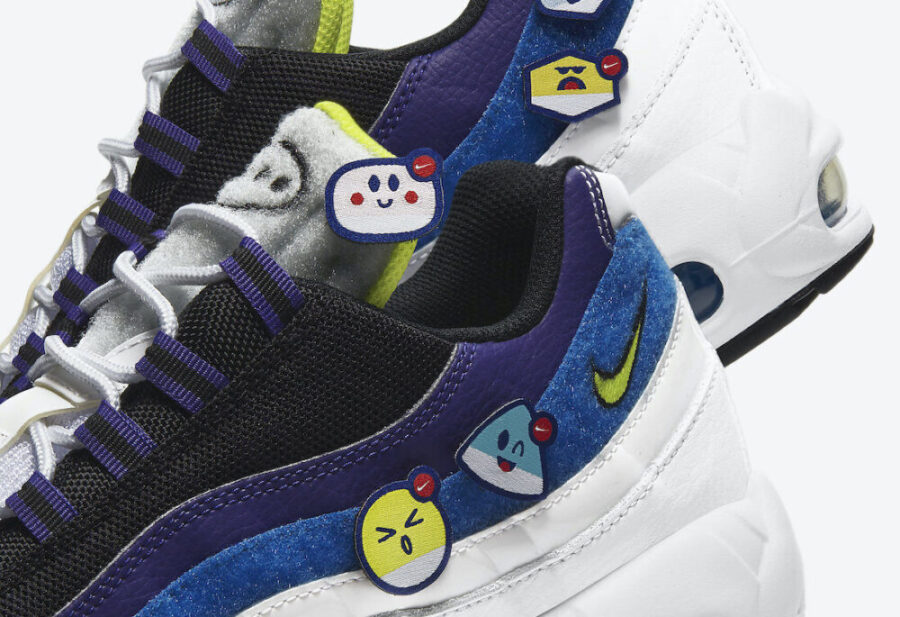 Nike Air Max 95 Kaomoji с японскими смайлами