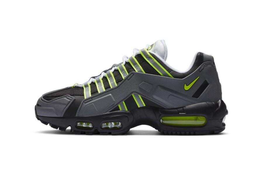 Nike Air Max 95 NDSTRKT «Neon» - концептуальный подход к классике