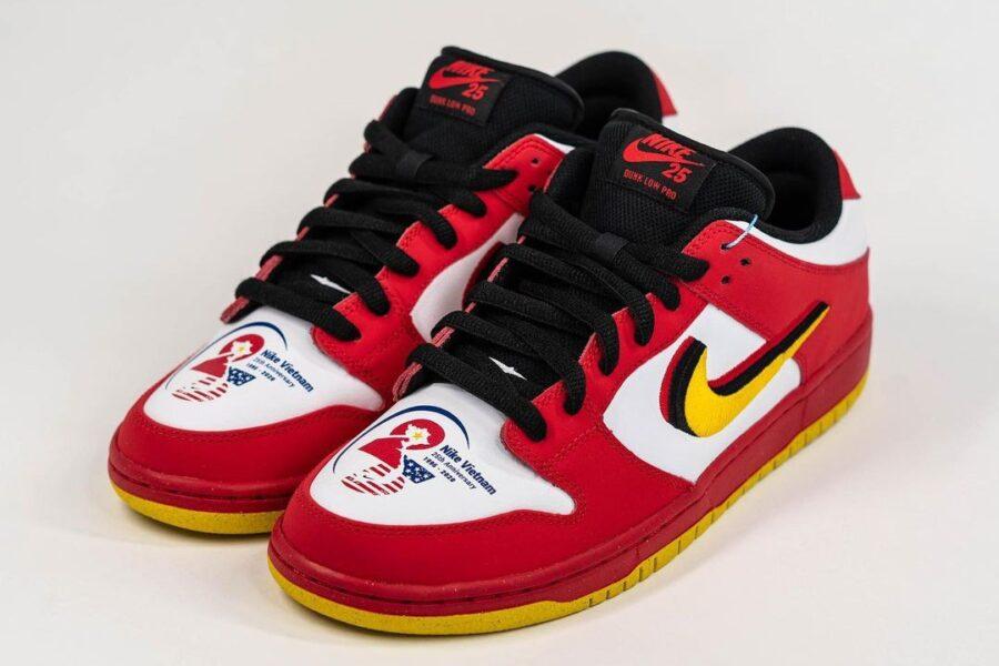 Кроссовки Nike SB Dunk Low «Vietnam» в честь 25 летнего сотрудничества с производителем Ching Luh