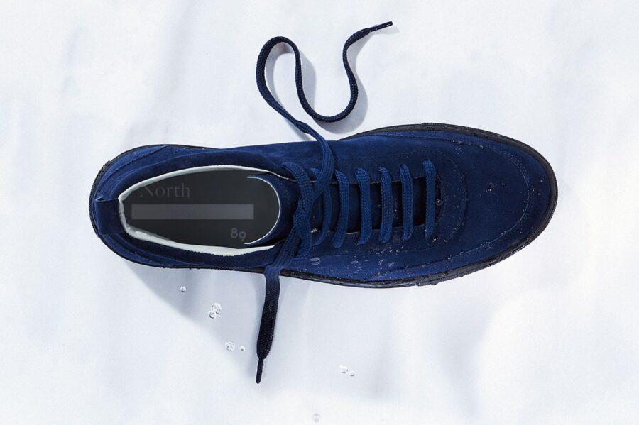 Водонепроницаемые замшевые кроссовки от North-89
