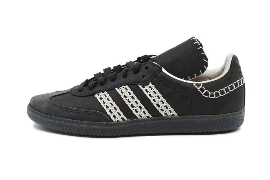 Ретро кроссовки Adidas Samba и SL72 в исполнении Уэльс Боннер